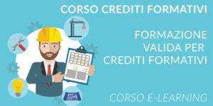 Corsi validi per crediti formativi